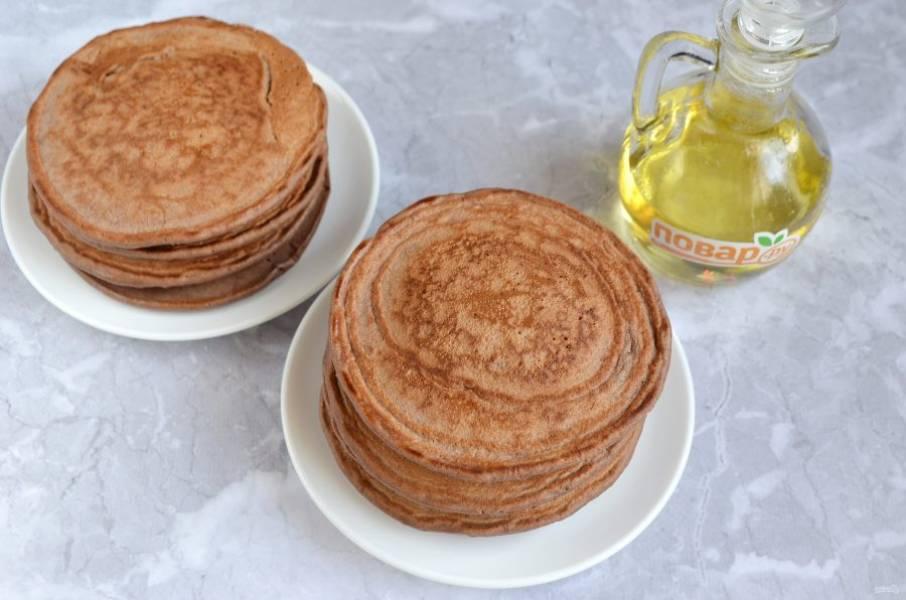 8. Готовые панкейки подавайте с любимыми джемами, соусами или сгущенным молоком!