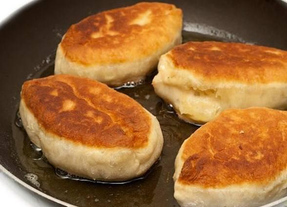 Вот они - пирожки с рисом! Приятного аппетита!