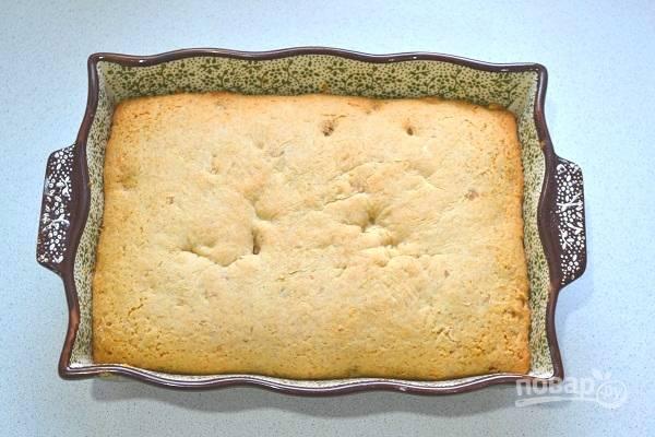 11. Готовое печенье остудите и нарежьте порционными кусочками.