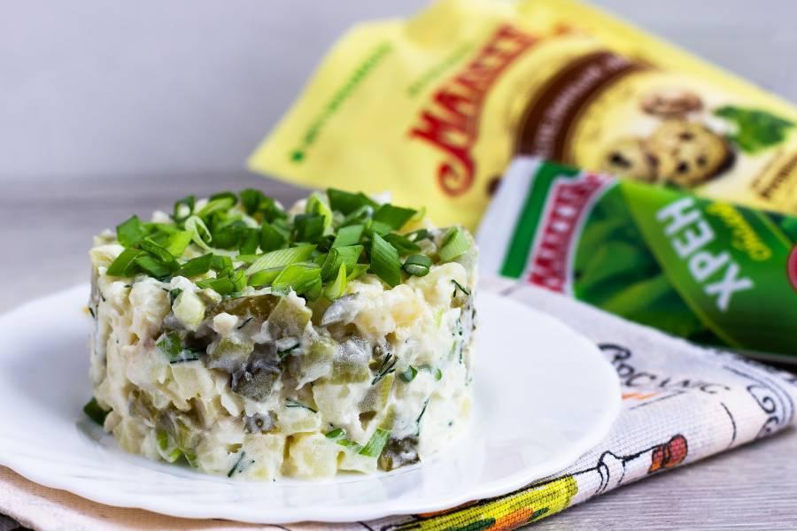 """Рыбный салат """"Мужские слезы"""""""