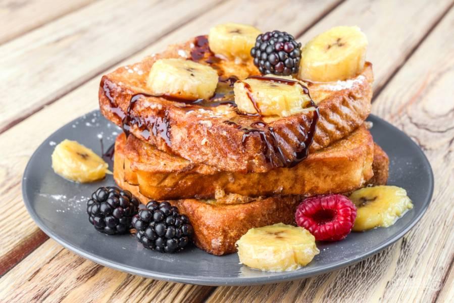 3 потрясающих рецепта для быстрого завтрака: тосты с начинкой