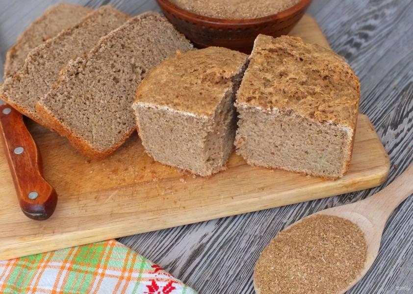 Хлеб для диабетиков в хлебопечке