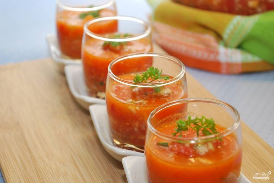 Овощные супы