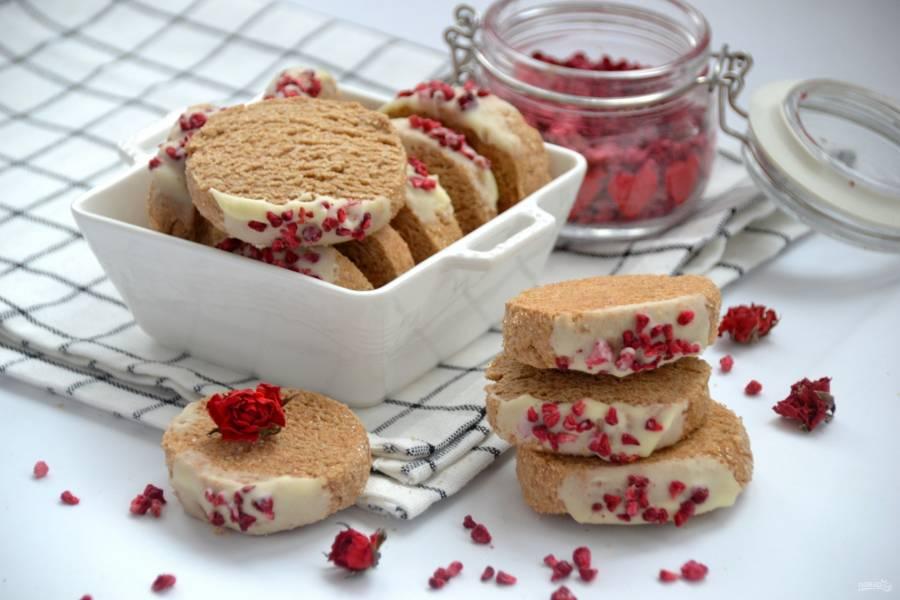 Печенье из полбяной муки