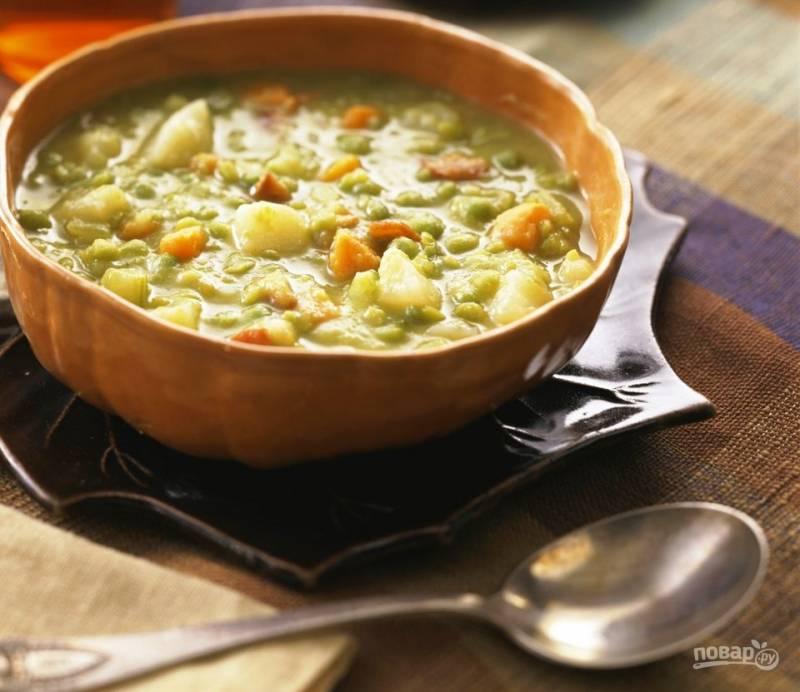 Суп без бульона