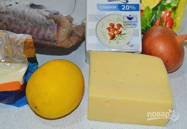 1. Подготовьте все необходимые ингредиенты, включите разогревать до 190 градусов духовку.