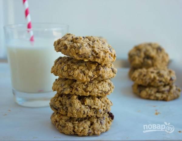 Рецепт диетического печенья из геркулеса