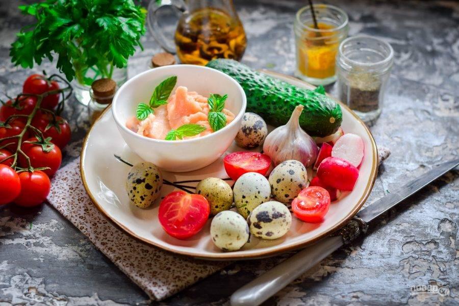 Топ-8 салатов с яйцами