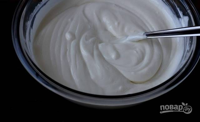 Крем из сметаны и сахара