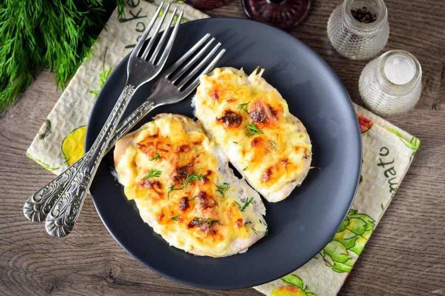 Готовое блюдо подавайте к столу  в горячем виде. Приятного аппетита!