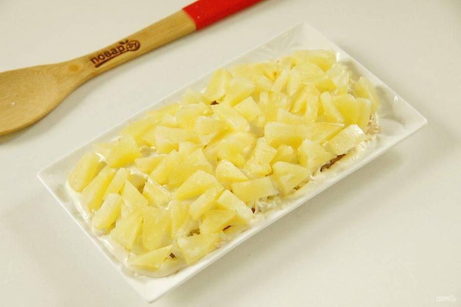 9. Кусочки ананаса.