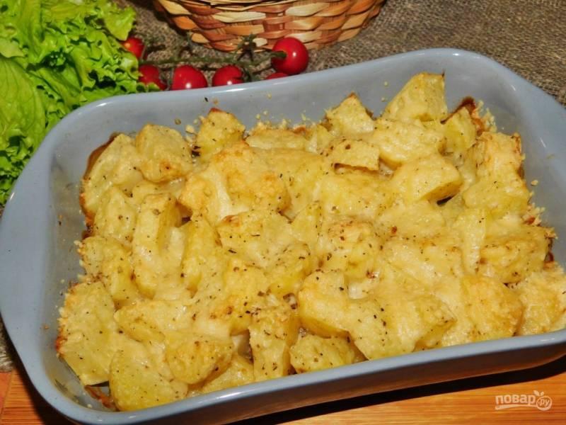 Картошка в духовке от Джейми Оливера