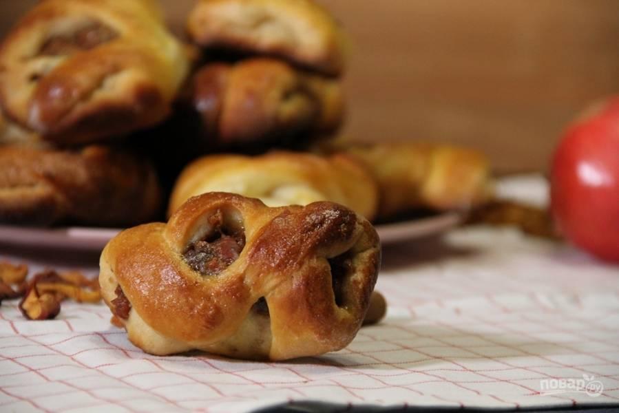 Прецель - вкуснейшие булочки с маком, корицей и сухофруктами