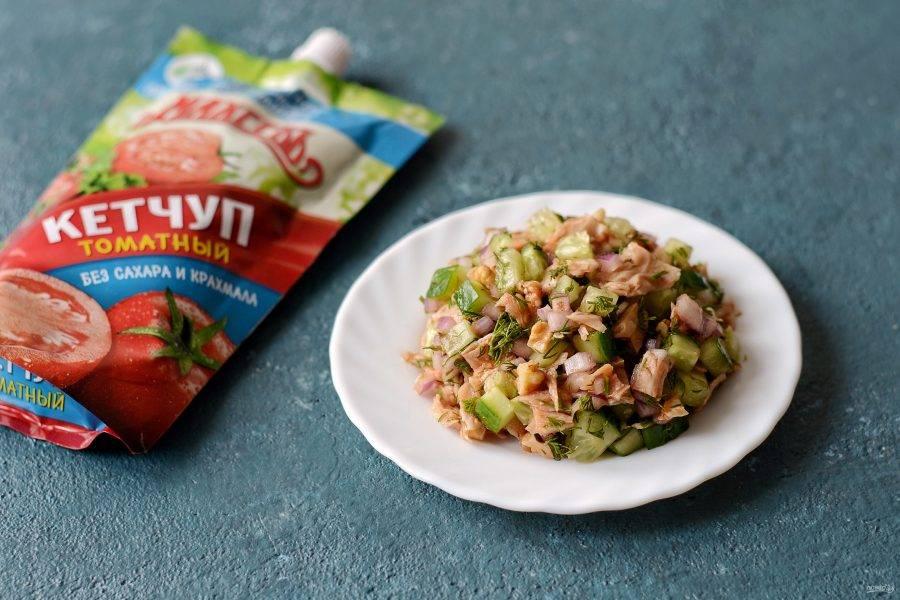Салат «Пикантный» готов, приятного вам аппетита!
