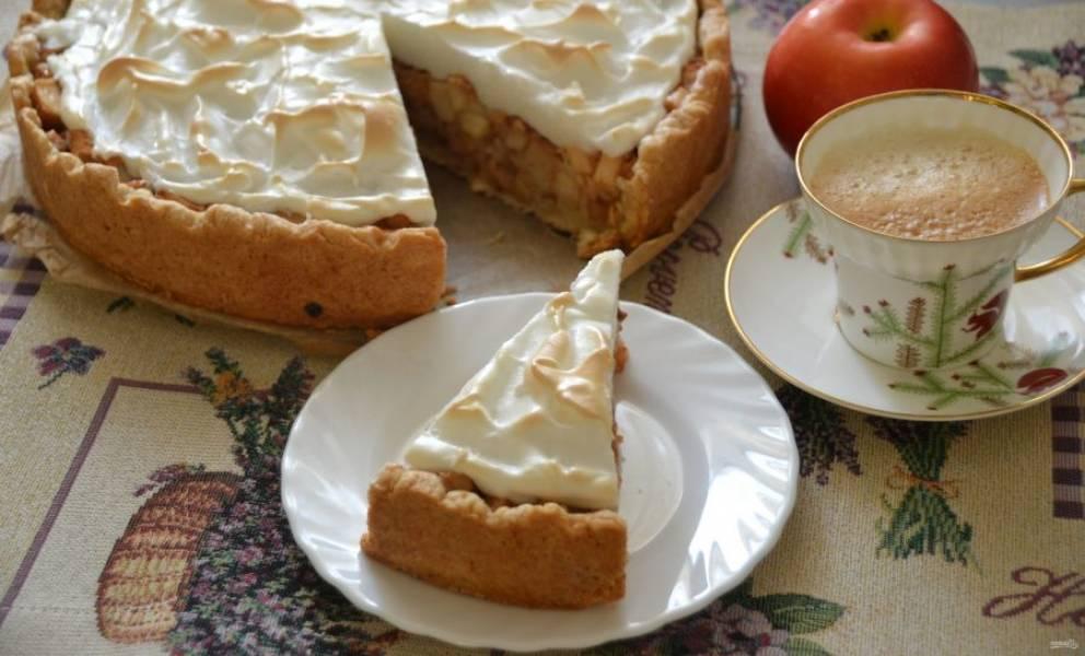 Пирог получился  нежным, с большим количеством начинки, очень вкусный!