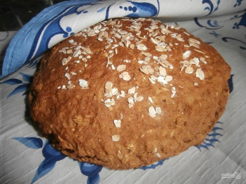 Цельнозерновой бездрожжевой хлеб