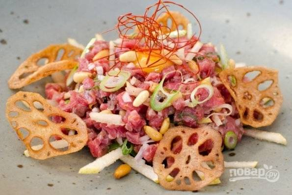 Тартар из мяса
