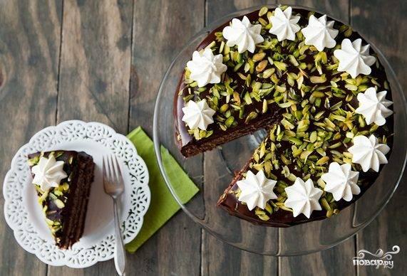 Бисквитный торт с пропиткой