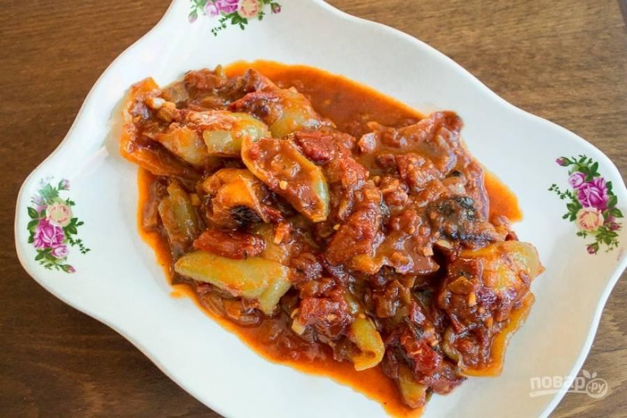 7.Готовое блюдо подавайте сразу после приготовления или после остывания. Приятного аппетита!