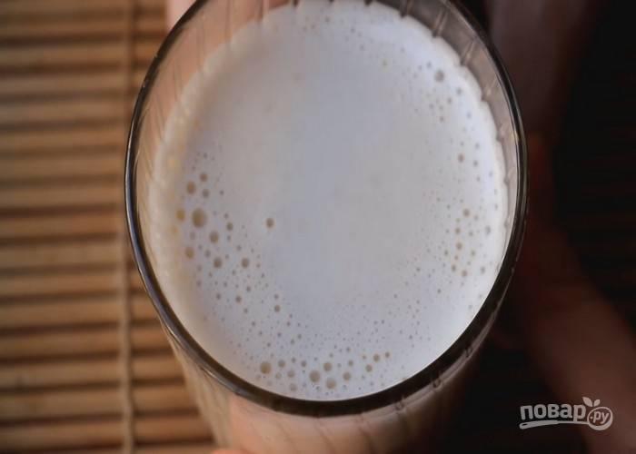 Овсяное молоко готово.