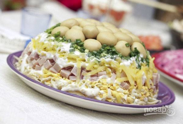 "Салат ""Поляна"""