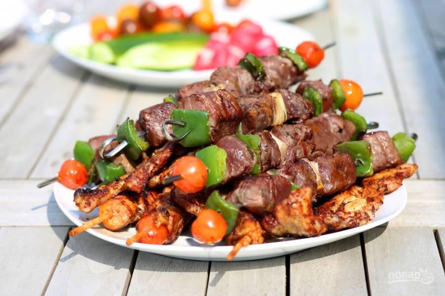 Как не испортить мясо и пикник