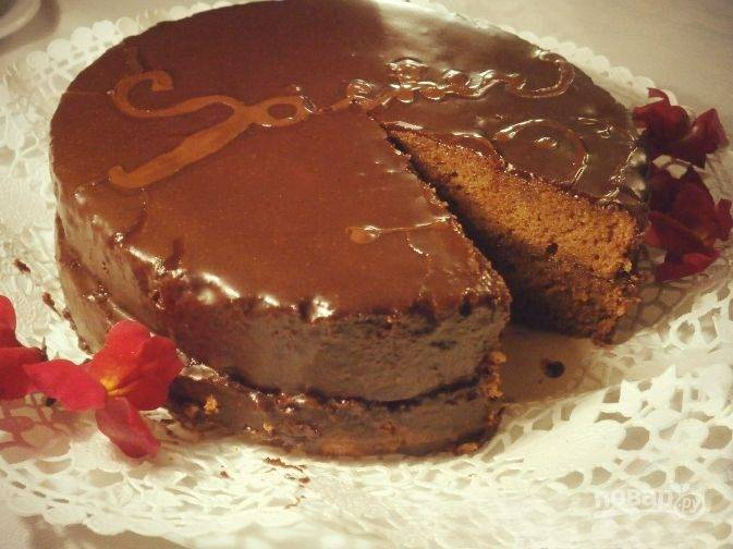 Нежный шоколадный торт