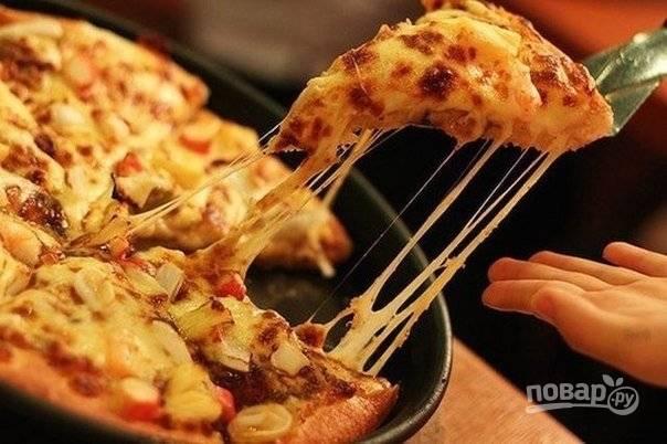 Пицца мгновенная