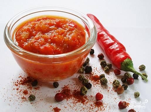 Соус на зиму из помидоров