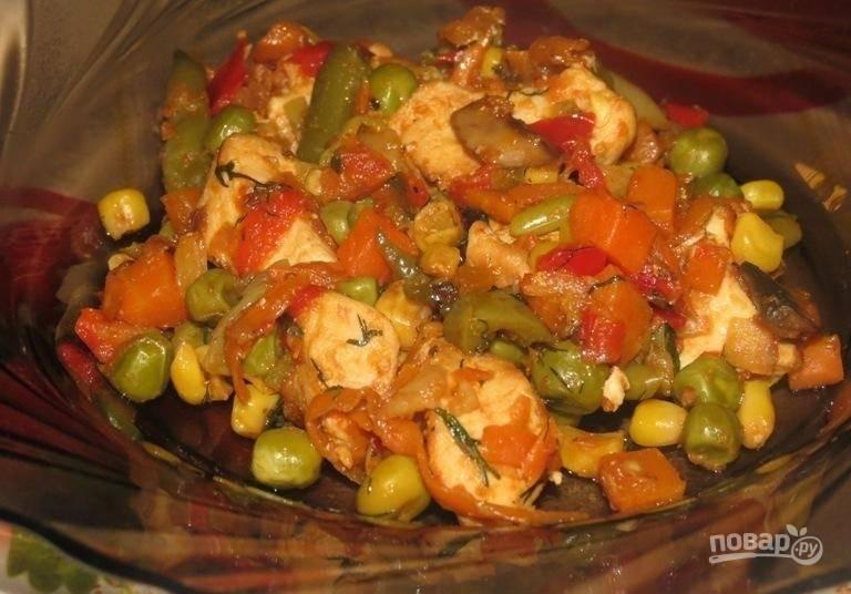 15.Готовое блюдо подаю самостоятельно или в качестве гарнира к мясу, рыбе.