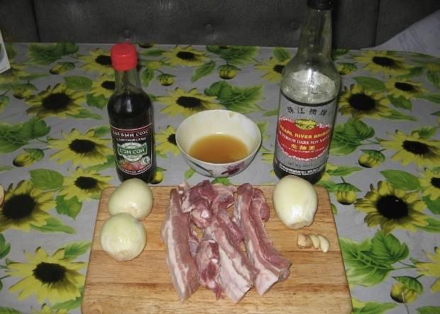 Для начала подготовим все необходимые для готовки ингредиенты.