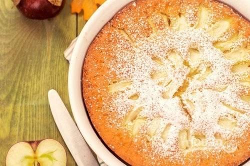 """Яблочный пирог """"Шарлотка"""""""