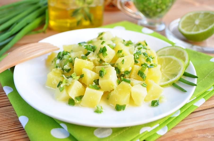 Брамборовый салат
