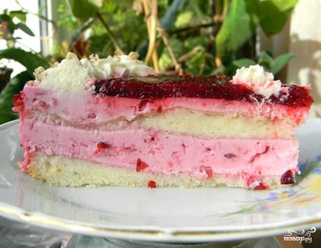 Творожный мусс для торта