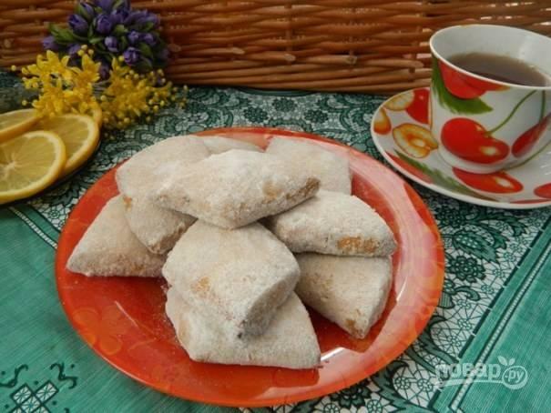 """10. Печенье """"Буссу ла тмессу"""" готово. Угощаем своих родных и наслаждаемся сами воздушным печеньем."""