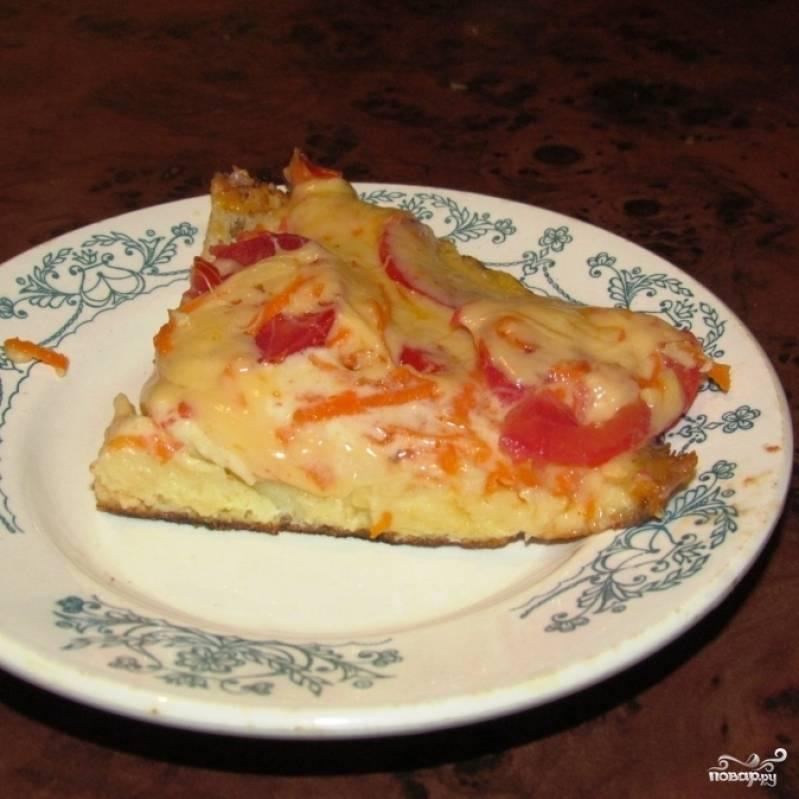"""Пицца """"Минутка"""" готова! Приятного аппетита :)"""
