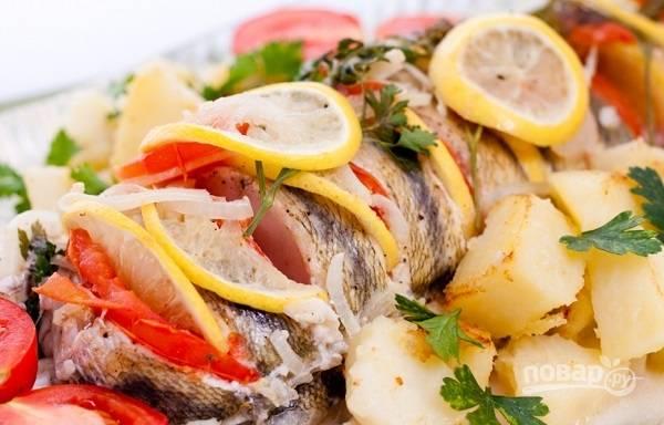 12. Подавайте судака к столу с гарниром или любимым соусом. Приятного аппетита!