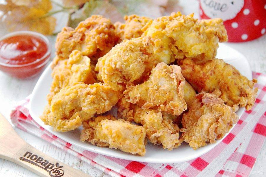Хрустящая закуска: 7 блюд в кляре