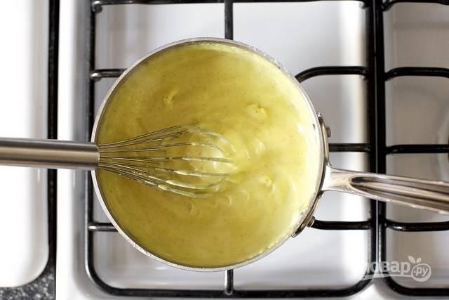 Крем для слоеного торта