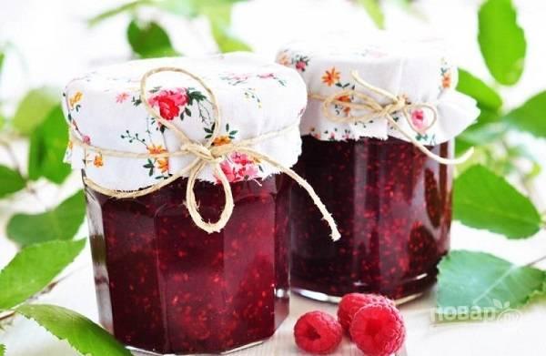 Варенье из малины (классический вариант на зиму)