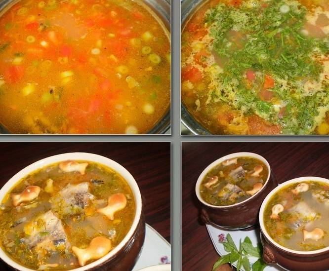 Мелко нарежьте укроп и добавьте в суп. Через минуту снимаем суп с огня и даем ему настояться 10-15 минут.