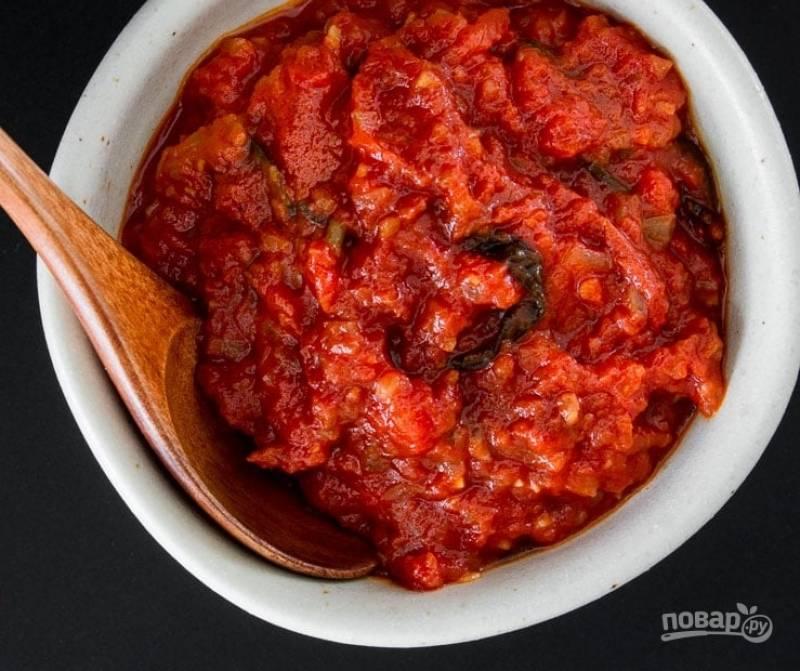 3.Подавайте готовый соус со спагетти, мясными шариками или ешьте просто так.