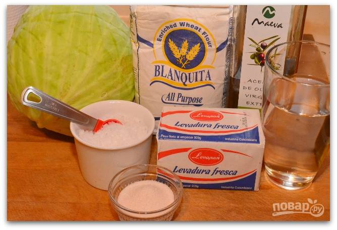 Приготовление начинаем с подготовки основных ингредиентов.