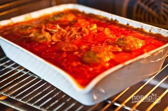 11. Отправьте обратно в духовку и запекайте до готовности еще минут 15-20.  Приятного аппетита!