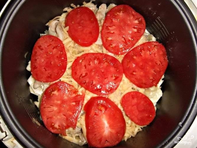 Можете еще добавить помидоры сверху кружочками.