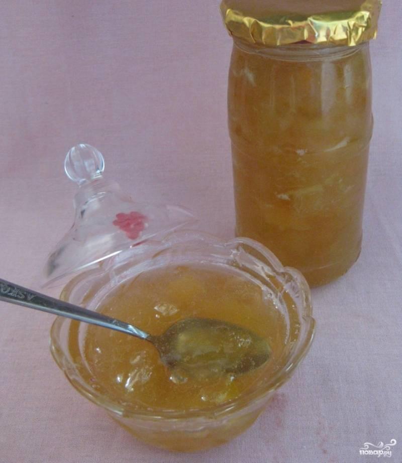 Варенье из дыни на зиму с лимоном