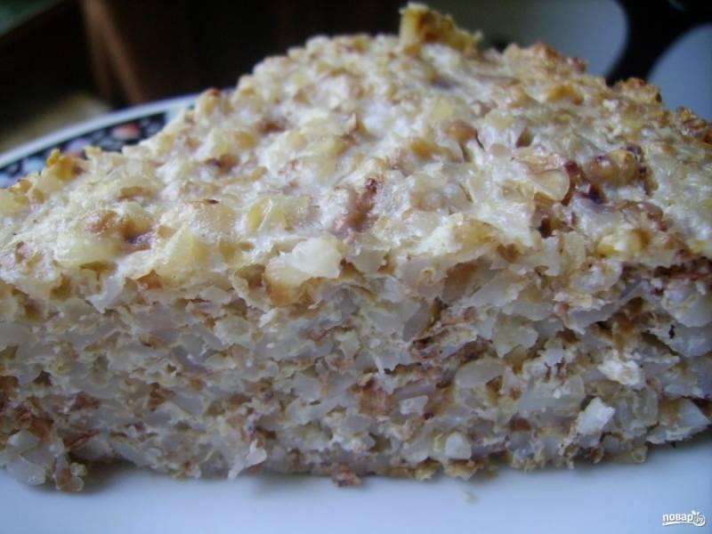 Готовую гречку с творогом можете подать со сметаной или вареньем. Приятного аппетита!