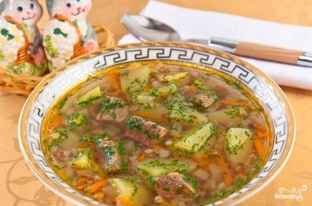 Итак, суп готов ! Подавать горячим и посыпать зеленью. Приятного аппетита!