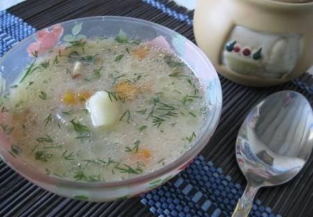 5. Через пять минут ваш суп готов! Приятного аппетита!