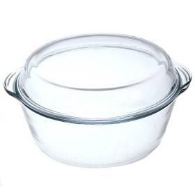 Взять посуду для микроволновой печи, обязательно с крышкой.